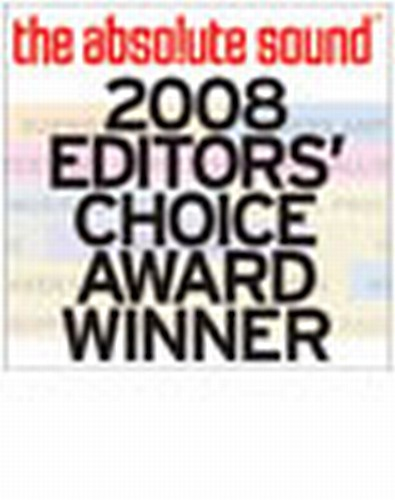 Editor's Choice Award - 2008