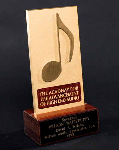 Speakers Award - 1993