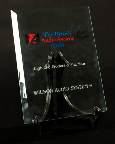 High End Product of the Year - 2001